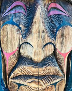 Detail of Totem Pole