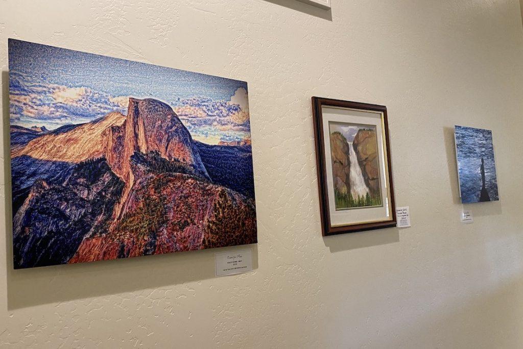 Exhibit at Yosemite Visitors' Center